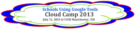 Schools Using Google Tools - Cloud Camp NH