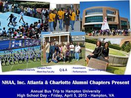 Hampton University High School Day-Atlanta/Charlotte...
