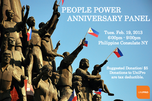 UniPro Presents People Power Anniversary Panel