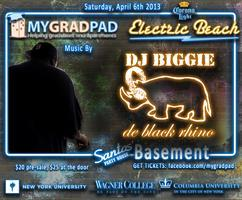 MyGradPad Presents DJ BIGGIE at Santos Party House