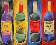 Four Wines - Color Me Mine - 4-1-13