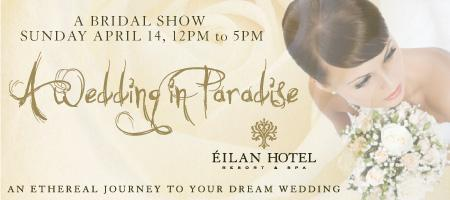 A Wedding in Paradise at Eilan Hotel Resort & Spa