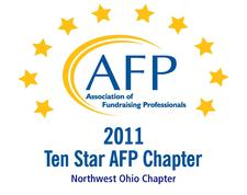AFP (Association for Fundraising Professionals), Northwest Ohio Chapter logo