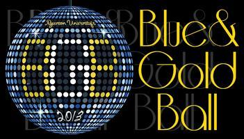 Ryerson Blue and Gold Ball