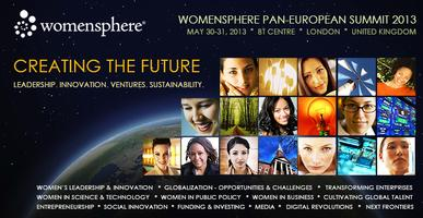 Womensphere Europe Summit 2013 | CREATING THE FUTURE: EUROPE+THE...