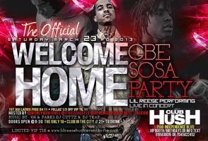 THE OFFICIAL WELCOME HOME SOSA PARTY |LIL REESE LIVE...