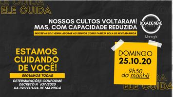 CULTO DOMINGO (25/10) 9h30
