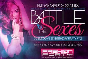 TONIGHT!!! Battle Of The Sexes