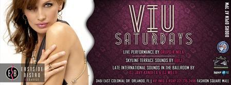 "The #1 Latin NIghts On Saturday is ""VIU"" @ EastBistro"