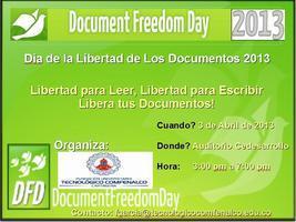Document Freedom Day Cartagena 2013