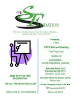 The Stewart Foundation's 4th Annual FREE CRCT PREP CLASSES