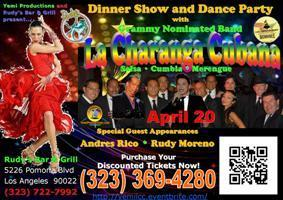 Sat 4/20 La Charanga Cubana Salsa Dance Party at...