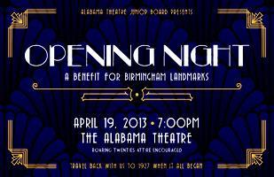 Opening Night: A Benefit for Birmingham Landmarks