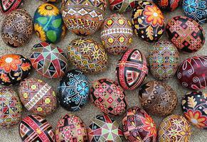 Pysanky! Ukrainian Egg Decorating Workshop (all levels)