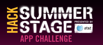 2013 Hack SummerStage Kick-off Event