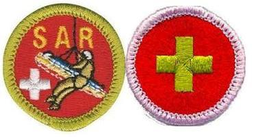 First Aid / Search and Rescue . Broomfield Merit Badge Day...