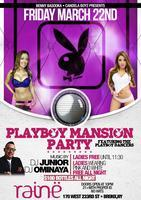 THE OFFICIAL PLAYBOY MANSION PARTY AT RAINE LOUNGE...