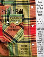 Pretty In Plaid: Orchard Garden Spring Formal Dinner