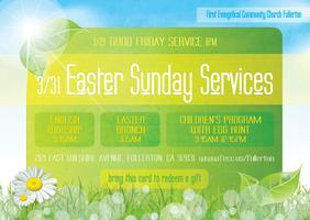 RESURRECTION DAY Sunday Brunch & Egg hunt