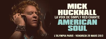 MICK HUCKNALL (SIMPLY RED) ✪ L'Olympia / Corida....