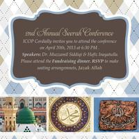 2nd Seerah Conference & Fund Raiser Dinner (Nurturing...