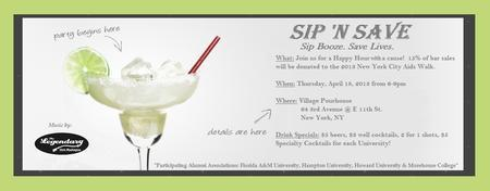 Sip n' Save Lives!