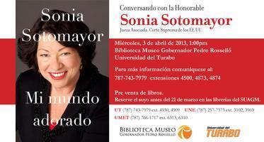 Conversando con la Hon. Sonia Sotomayor Jueza...