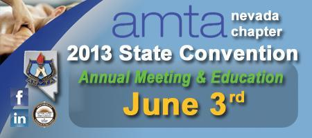 2013 amta nevada chapter State Convention