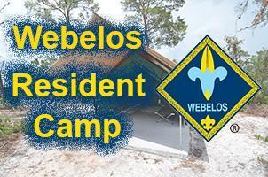 Webelos Resident Camp - Deposits