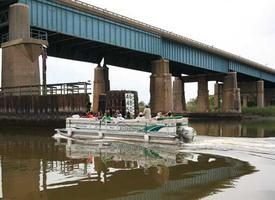 HCNJ's Eco-Cruise on the Hackensack River