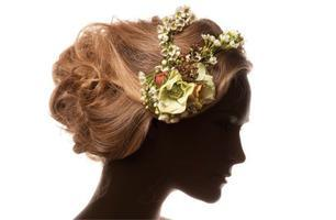 Floral Headbands, Crowns and Hair Pieces
