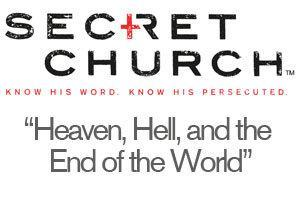 Secret Church w/ David Platt, FREE at Agape: Heaven,...