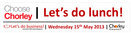 Choose Chorley - Let's Do Lunch
