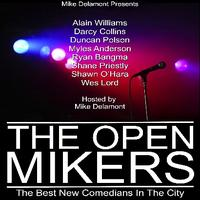 Mike Delamont presents THE OPEN MIKERS