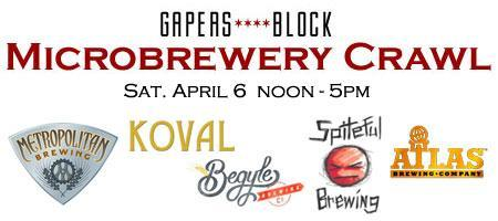 Gapers Block Microbrewery (& Distillery!) Crawl