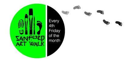 Sanford Art Walk: Black and White Forever