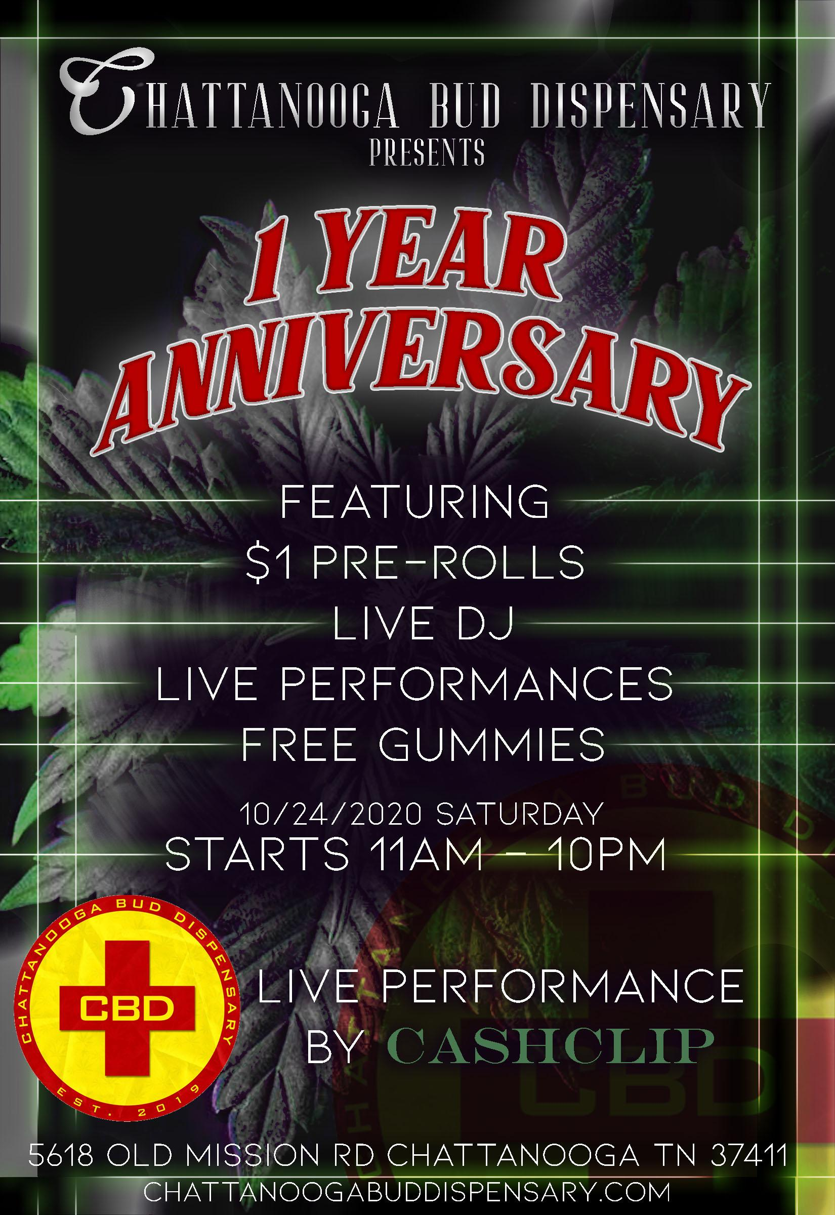 * The 1 Year Anniverary * | Live Music+Free Samples