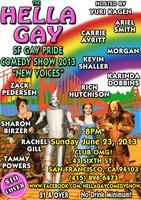 San Francisco Gay Pride Comedy Show 2013