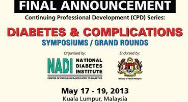 12th CPD - DIABETES & COMPLICATIONS SYMPOSIUMS/GRAND...
