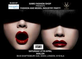 SAM'S FASHION SHOP VIP FASHION & MODEL INDUSTRY PARTY