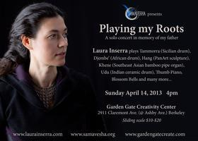 Playing my Roots: a solo concert in memory of my father