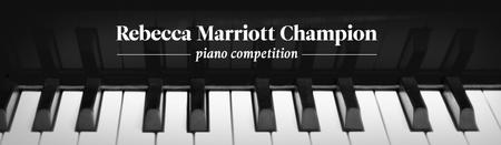 UVU Rebecca Marriott Champion Piano Competition Registration
