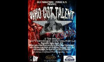 Silk Productions Who Got Talent Competition