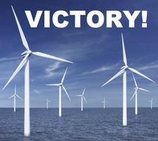 We Won on Wind Victory Party