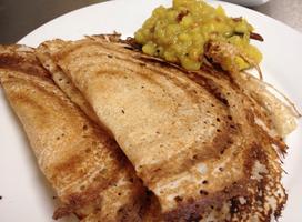 Indian Cooking Class: Paper Dosai, Onion Rava Dosai,...