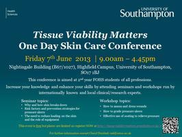 Tissue Viability Matters:  One Day Skin Care Conference