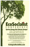 EcoSocialist Conference - online registration is...