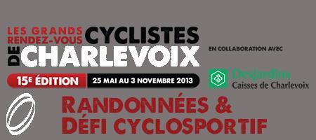 Randonnées & Défi Cyclosportif de Charlevoix