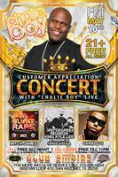 Free Chalie Boy Concert Live Inside Empire + Mitch...