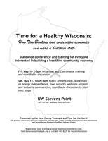 Time for a Healthy Wisconsin: How timebanking and...